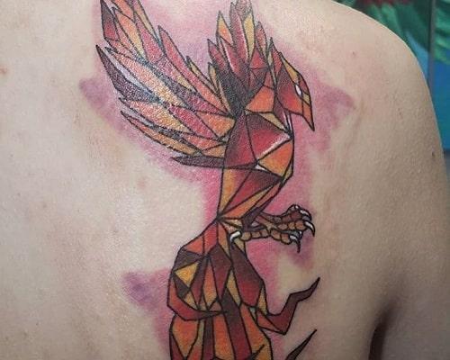 Geometric Model Tattoo