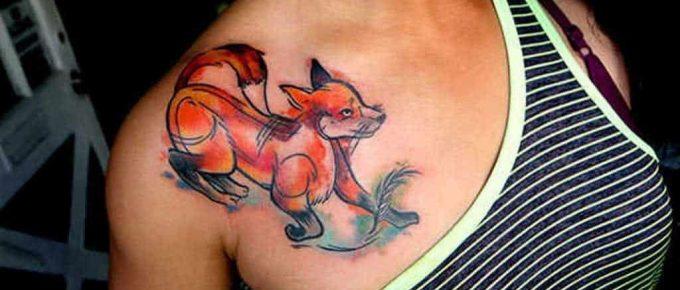 Best Fox Tattoo Designs