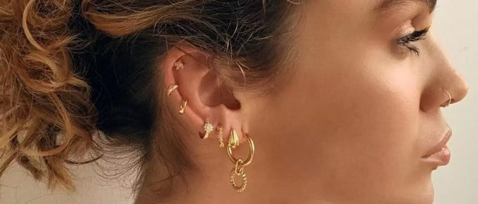 Can You Put a Regular Earring in a Helix Piercing?
