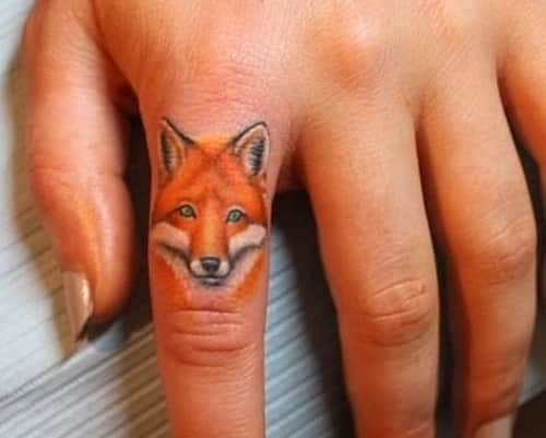 Little tattoo for your cute fingers