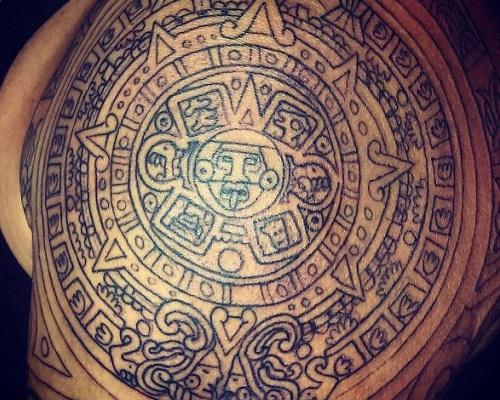 Mexican Aztec Tattoos
