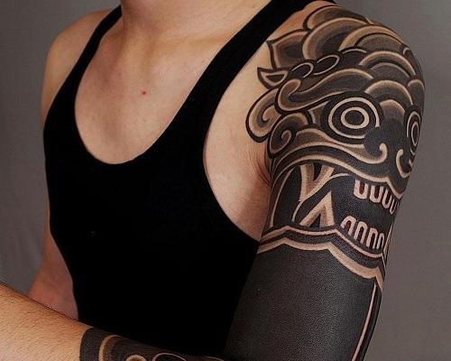 Sleeved Korean Tattoo